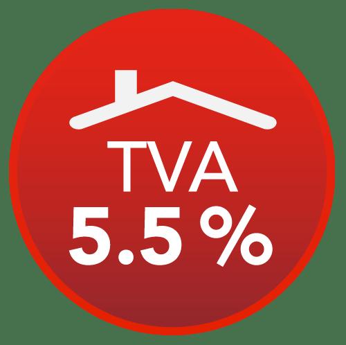 TVA à taux réduit 5,5%