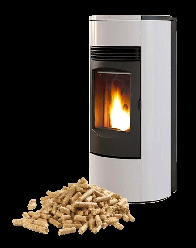 Le poêle est une solution confortable alimentée par un combustible propre et économique