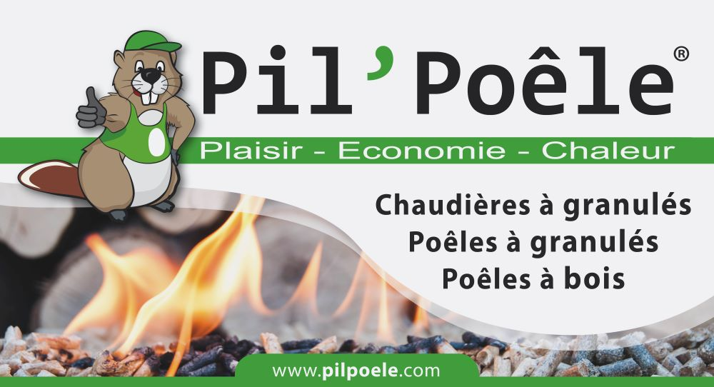 Concept du réseau Pil'Poêle, spécialiste chauffage au bois