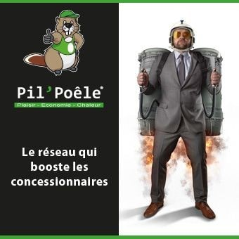 Pil'Poêle, le réseau qui booste les concessionnaires
