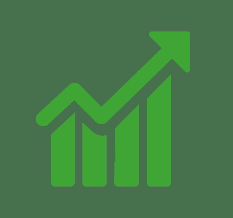 Les popêles à granulés de la gamme Pil'Poêle possèdent un rendement supérieur à 90%